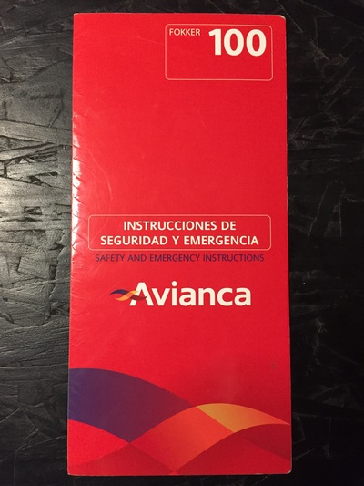 Avianca fokker 100 01 06 small